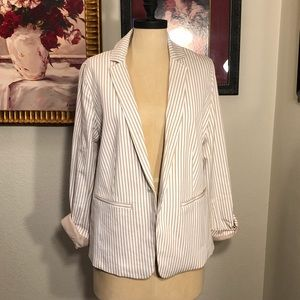 Brand new without tags striped blazer from Chicos